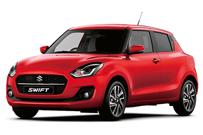 Suzuki Swift - Available In Fervent Red